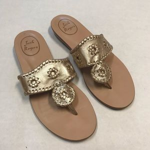 Jack Rogers Champagne Sandals